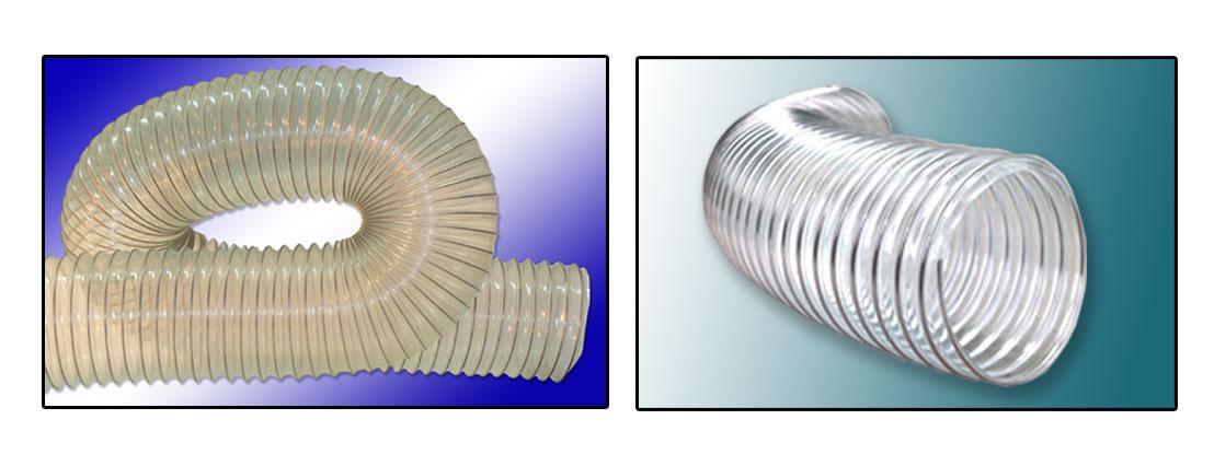Гибкие промышленные воздуховоды для абразива